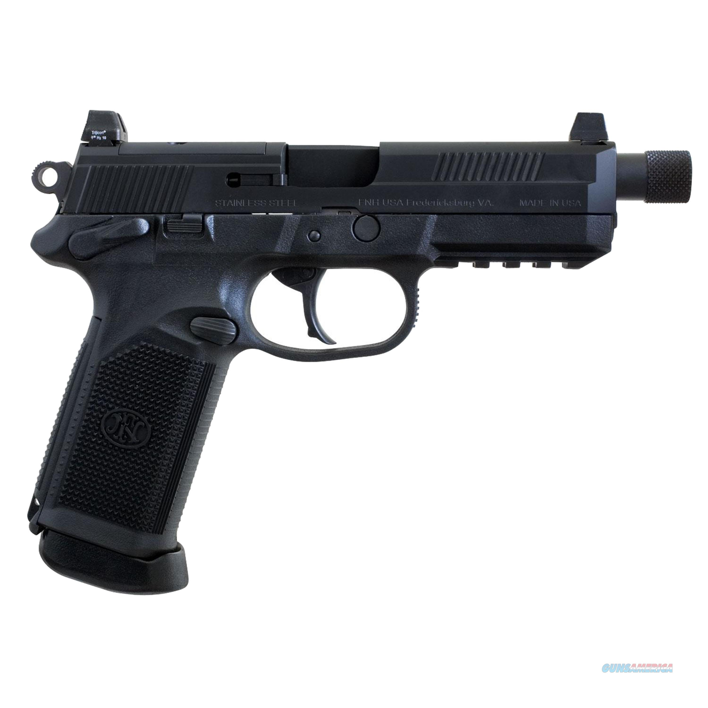 Fn Manufacturing Fnx-45 Tactical Da/Sa Manual Safety 66981  Guns > Pistols > F Misc Pistols