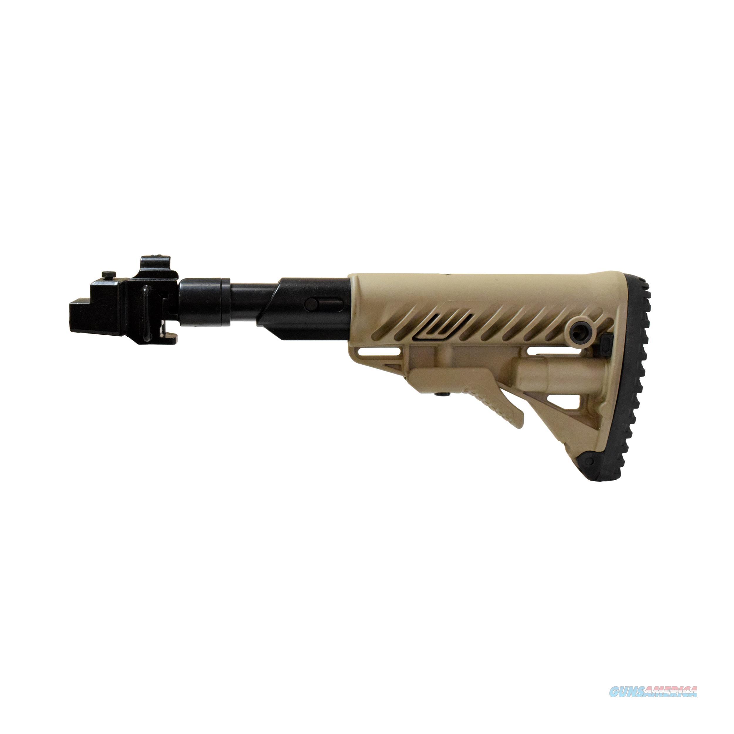 Mako Group Galil Style Recoil Compensation Folding Collapsible Buttstock System M4AK SB-FDE  Non-Guns > Gunstocks, Grips & Wood