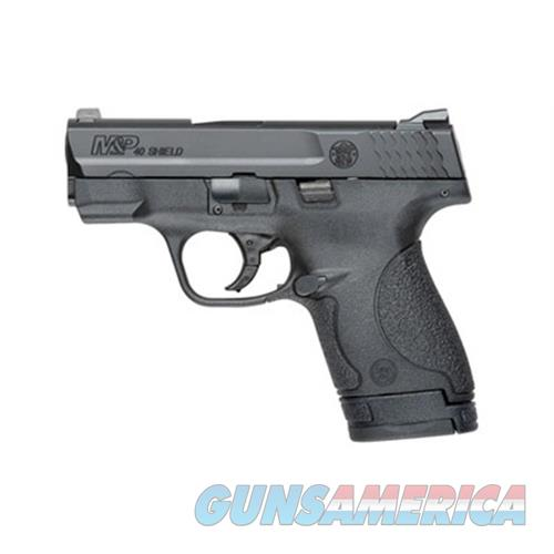 """Smith & Wesson 10034 M&P 40 Shield Double 40 Smith & Wesson (S&W) 3.1"""" 6+1/7+1 3-Dot Nts Black Polymer Grip/Frame Grip Black Armornite Stainless Steel 10034  Guns > Pistols > S Misc Pistols"""
