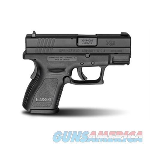 "Springfield Armory Sprgfld Xd9 9Mm 3"" Blk 10Rd XD9801  Guns > Pistols > S Misc Pistols"