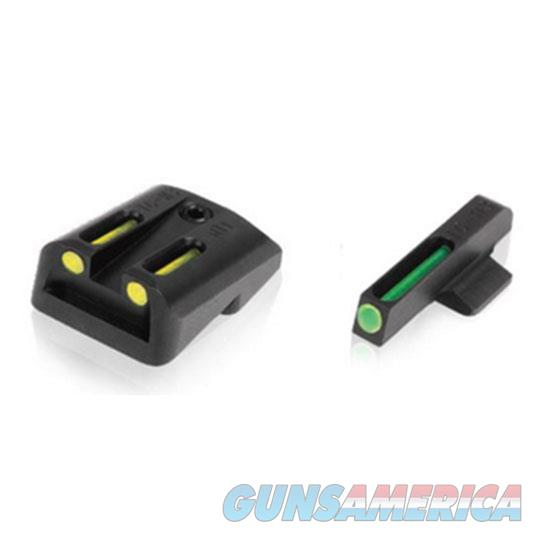 Truglo Tfo Set Sig #8/ #8 Yel Rear Grn Front TG131ST1Y  Non-Guns > Iron/Metal/Peep Sights