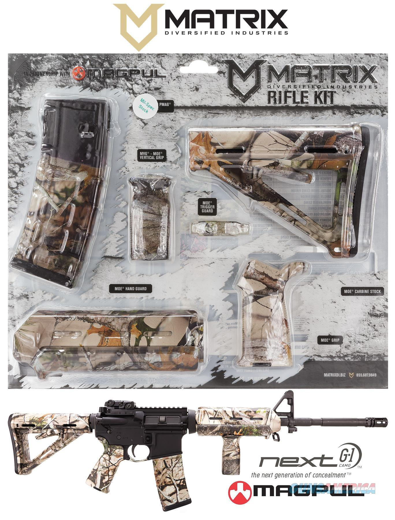 Mdi Magcom -Nv Next Camo Vista Magpul Moe Kit Ar-15 Polymer MAGCOMNV  Non-Guns > Gunstocks, Grips & Wood