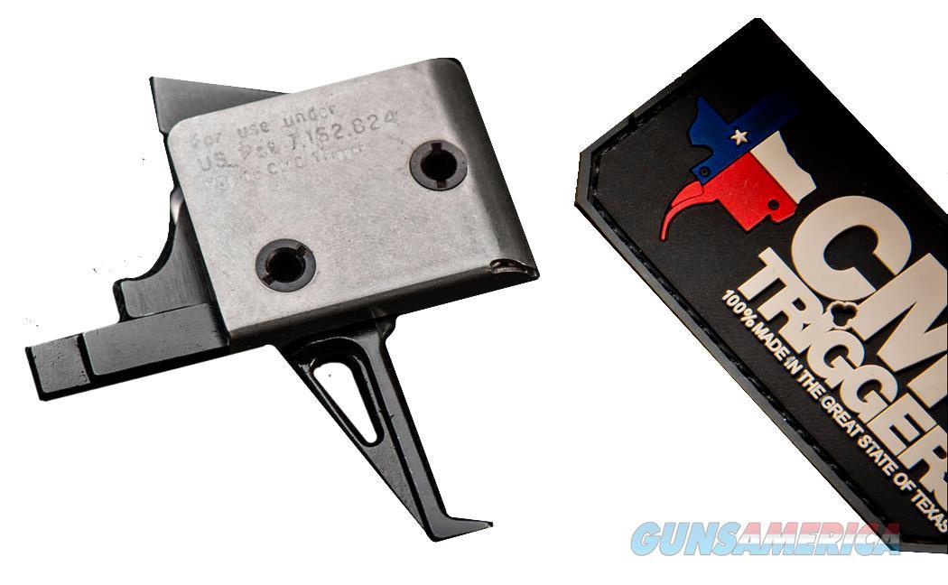 Cmc Triggers 93503 Single-Stage Flat Trigger Ar-15 Steel 5-5.5 Lb 93503  Non-Guns > Gun Parts > Misc > Rifles