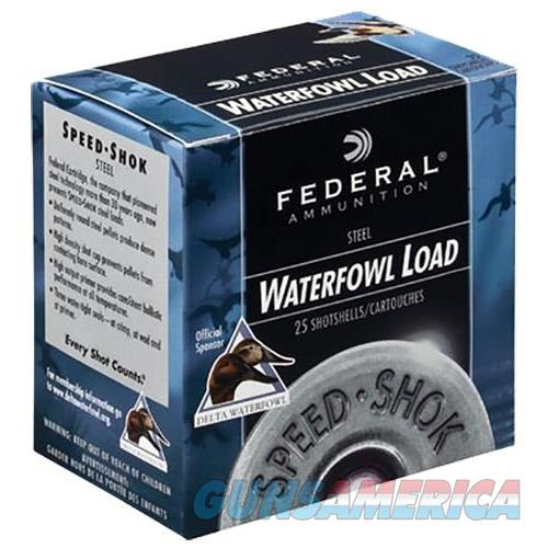 "Federal Wf1684 Speed-Shok Waterfowl 16 Ga 2.75"" 15/16Oz 4 Shot 25Bx/10Cs WF168 4  Non-Guns > Ammunition"