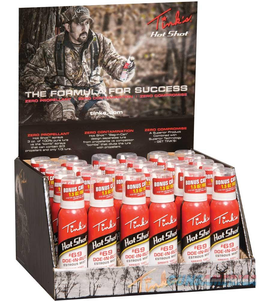 Tink's Hot Shot #69 30Pc Display W5310D30  Non-Guns > Hunting Clothing and Equipment > Game Feed/Locators/Trackers