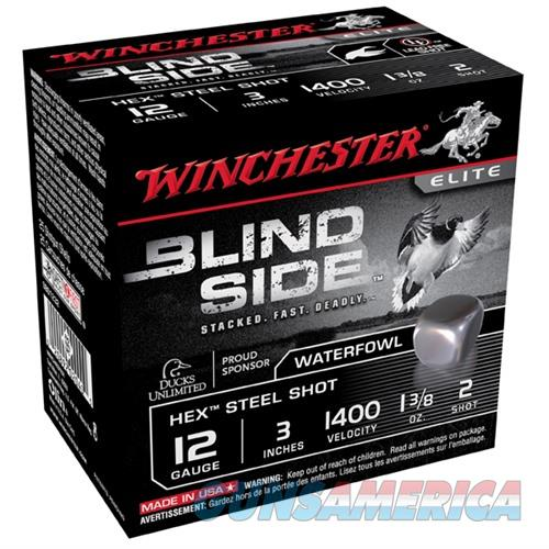 Winchester Ammo Blind Side 3'' #2 1-3/8Oz 100/Bx SBS123VP  Non-Guns > Ammunition