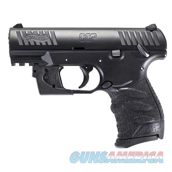 Walther Arms Ccp M2 9Mm 3.54 Blk 8 Rd Viridian Rd 5080500VRL  Guns > Pistols > W Misc Pistols