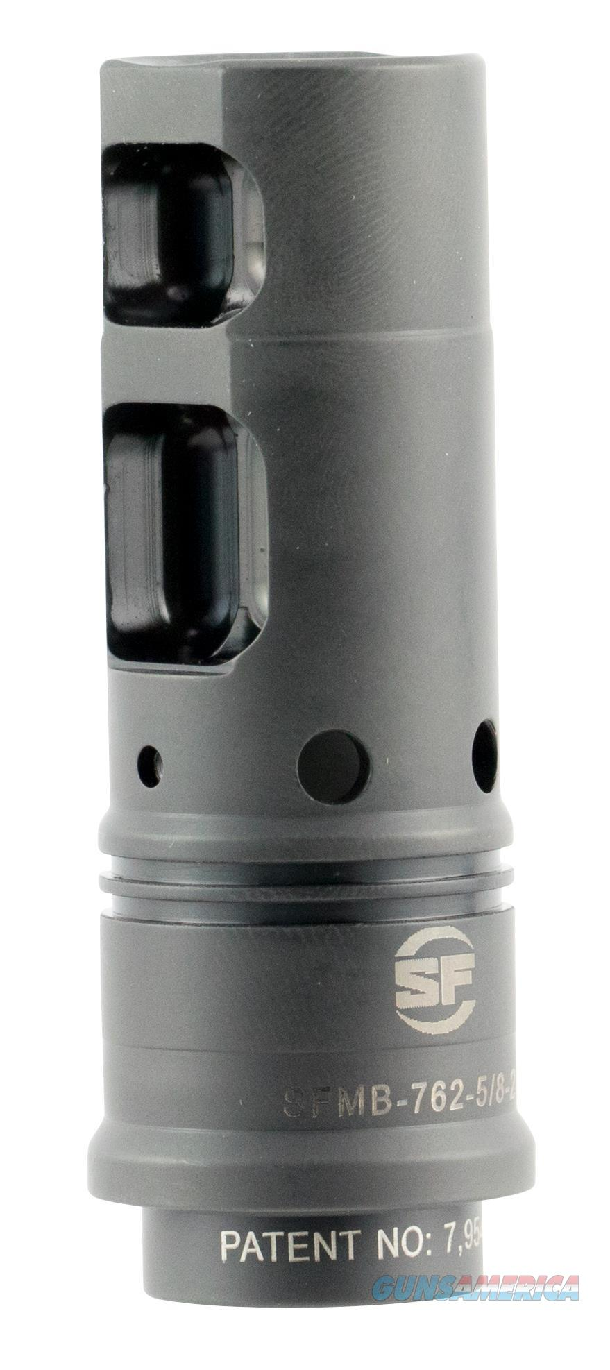 "Surefire Sfmb762 Suppressor Adapter Muzzle Brake Ar-10 7.62X51mm Stainless Steel 2.6"" SFMB762  Non-Guns > Gun Parts > Misc > Rifles"