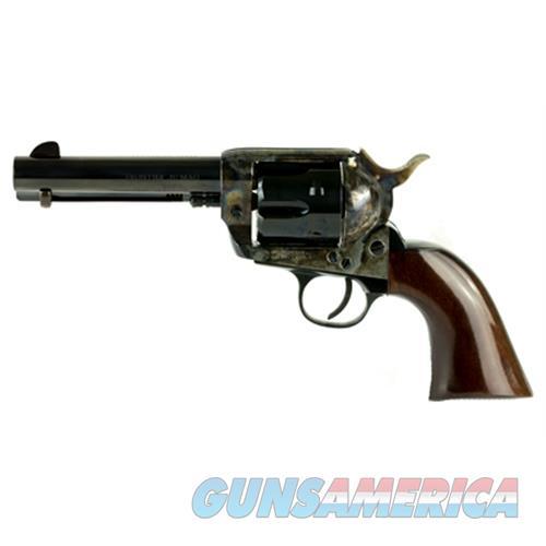 "Cimarron Firearms Frontier .38Spl/.357 Pw Fs 4.75"" Cc/Blued Walnut PP400  Guns > Pistols > C Misc Pistols"