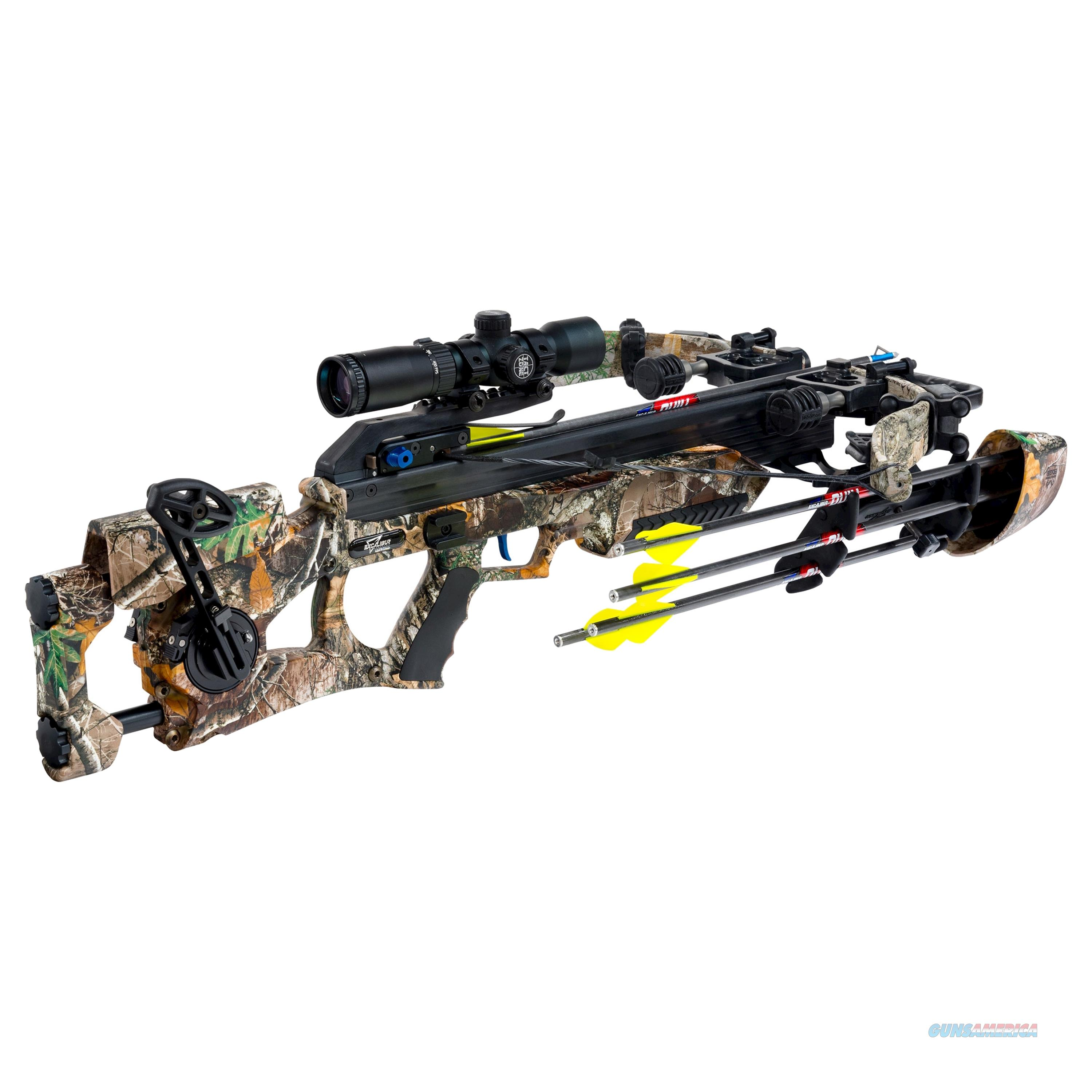 Excalibur Assassin 360 Crossbow Package, Realtree Edge E74047  Non-Guns > Archery > Bows > Crossbows
