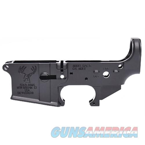 Stag Arms Llc Stag Stripped 5.56 Lower Receiver SA110005  Guns > Rifles > S Misc Rifles