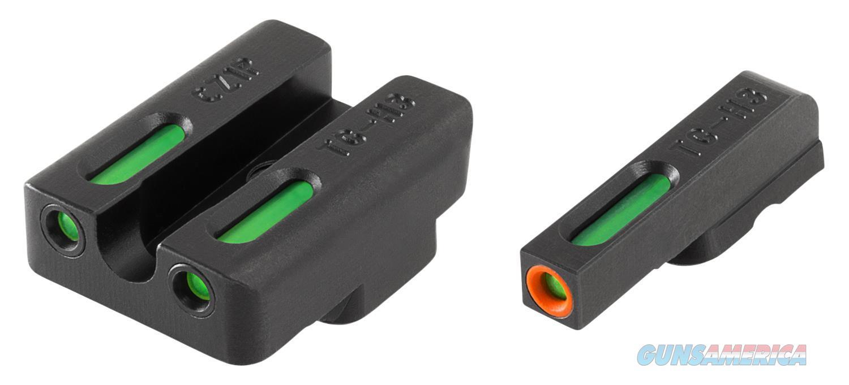Truglo Tg13cz1pc Tfx Pro Cz 75 Fiber Optic Green Tritium W/Orange Outline Front Green Rear Black TG13CZ1PC  Non-Guns > Gun Parts > Misc > Rifles