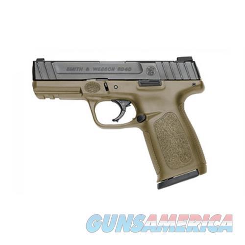 Smith & Wesson Sd40 40Sw 4 Blk Fde Frame Fs 14Rd 11999  Guns > Pistols > S Misc Pistols
