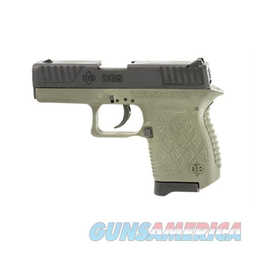 Diamondback Firearms Dbf Db9 9Mm 6Rd Fs Poly Odg DB9ODG  Guns > Pistols > D Misc Pistols