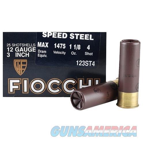 Fiocchi Speed Steel 12 Gauge 123ST4  Non-Guns > Ammunition