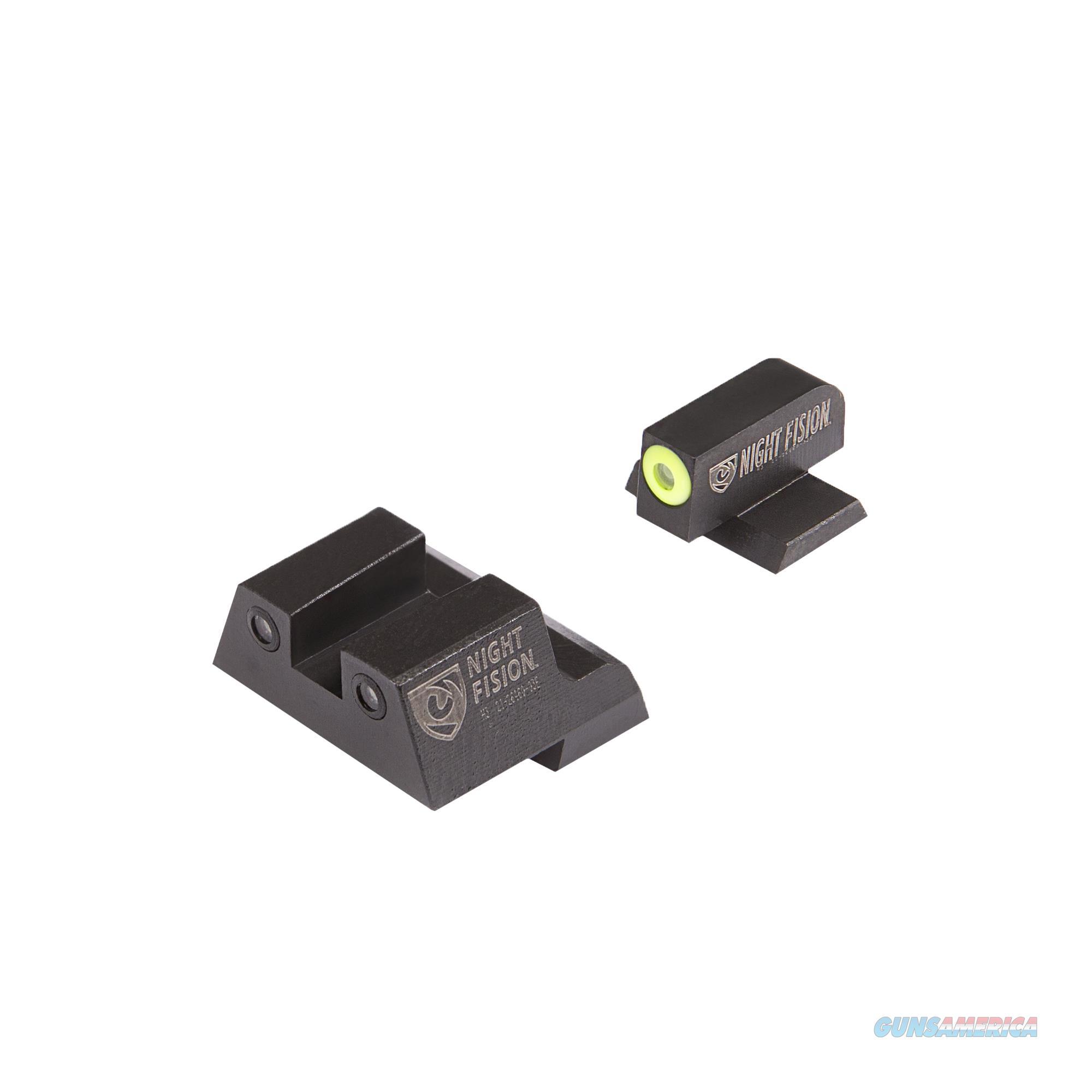 Night Fision Perfect Dot Night Sight Set, Canik Tp9sf Elite, Tp9sf, And Tp9sa CNK027003YGZ  Non-Guns > Gun Parts > Misc > Rifles