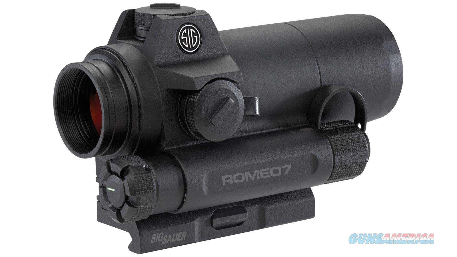Sig Sauer Romeo 7 1X30 Mm Red Dot SOR71001  Non-Guns > Scopes/Mounts/Rings & Optics > Rifle Scopes > Variable Focal Length