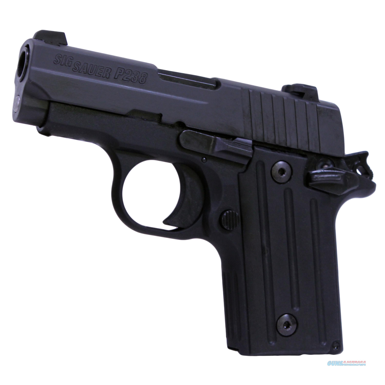 Sig Sauer P238 380Acp Sao Blk Nitron Contrast 238-380-B  Guns > Pistols > S Misc Pistols
