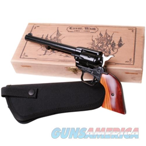 """Heritage Mfg Rr22mb6bxhol Rough Rider Small Bore Single 22 Long Rifle 6.5"""" 6 Cocobolo Blued RR22MB6BXHOL  Guns > Pistols > Heritage"""