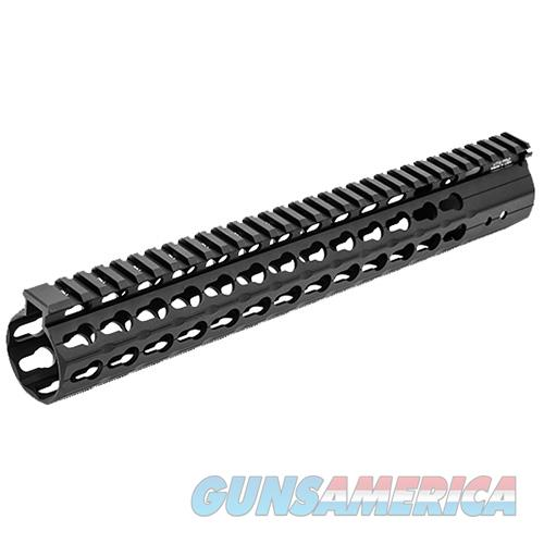 Leapers Utg Pro Keymod Compat Super Slim Free Float Rail MTU020SSKC  Non-Guns > Gun Parts > Misc > Rifles