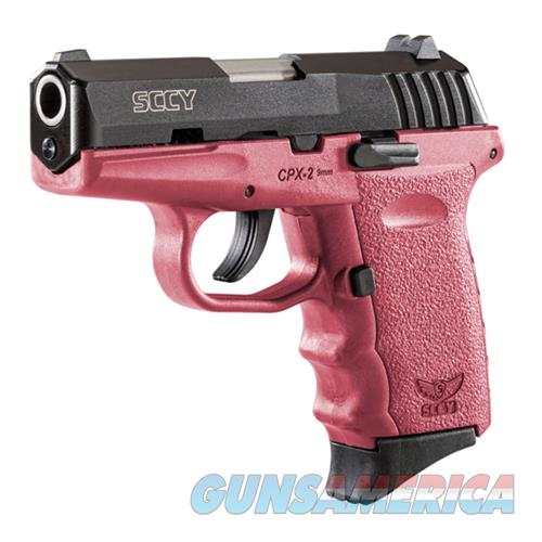 Sccy Industries, Llc Cpx-2 9Mm Without Safety CPX 2CBCR  Guns > Pistols > S Misc Pistols
