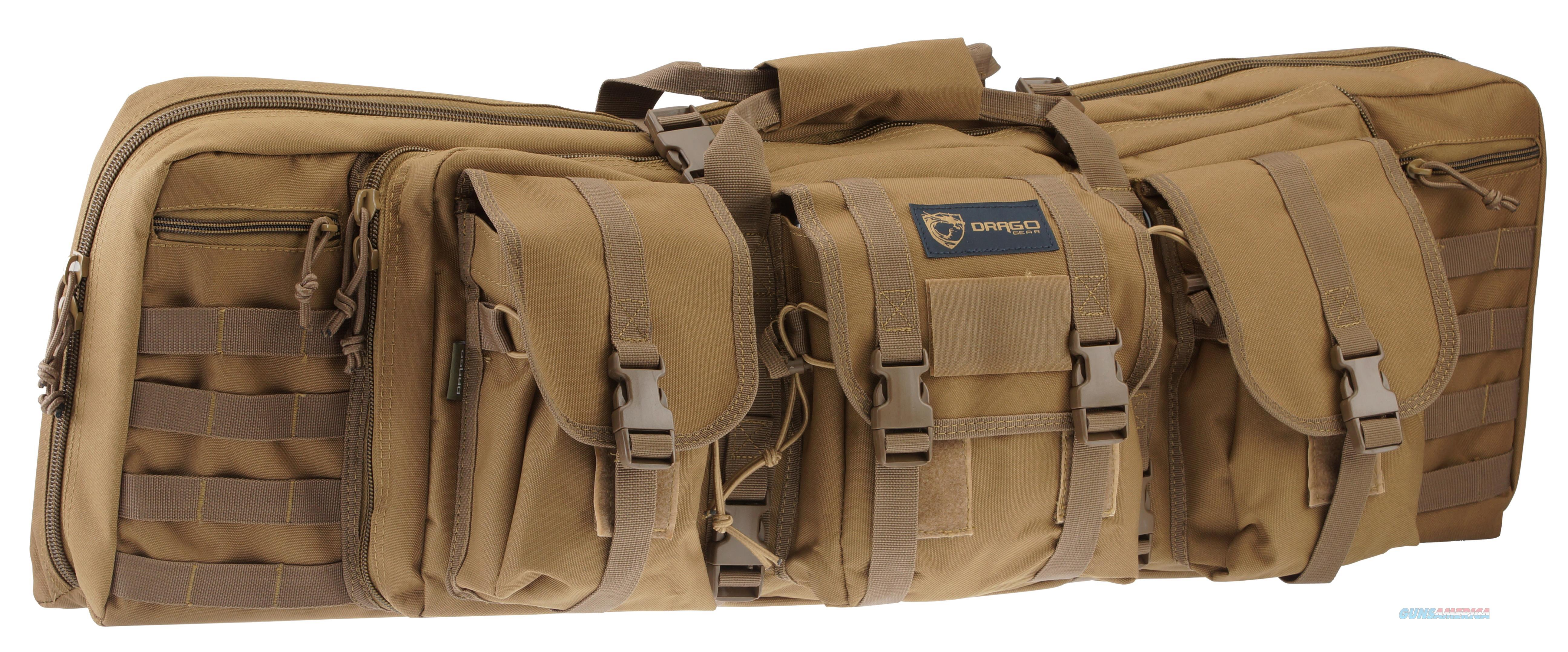 "Drago Gear 12-302Tn Single Gun Case 37"" X 14"" X 10"" Exterior 600D Polyester Tan 12-302 TN  Non-Guns > Gun Cases"