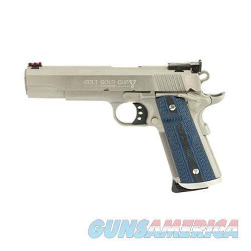 Colt Gold Cup Trophy 5 45Acp Ss Fofs Bomar Rear O5070XE  Guns > Pistols > C Misc Pistols