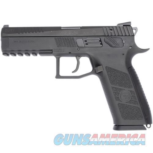 Cz P-09 Duty 9Mm Blk Poly 91620  Guns > Pistols > C Misc Pistols