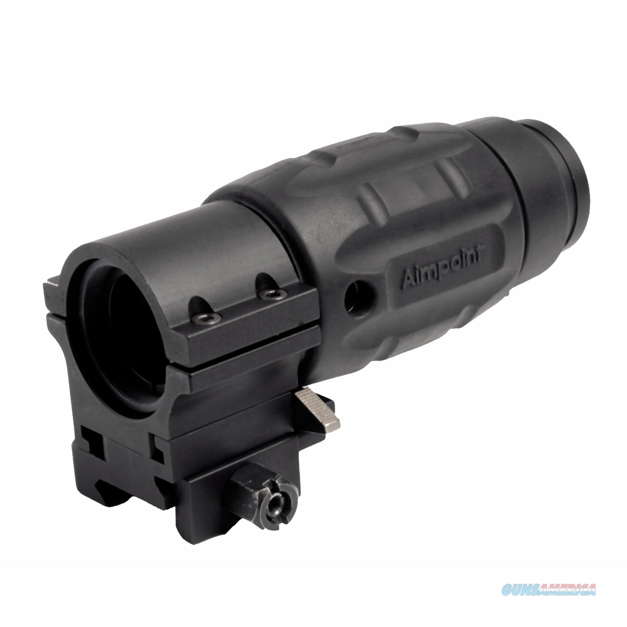 Aimpoint Magnifier 30Mm Tube With Twist Mount And Spacer Matte Black, 3X20mm 12071  Non-Guns > Iron/Metal/Peep Sights