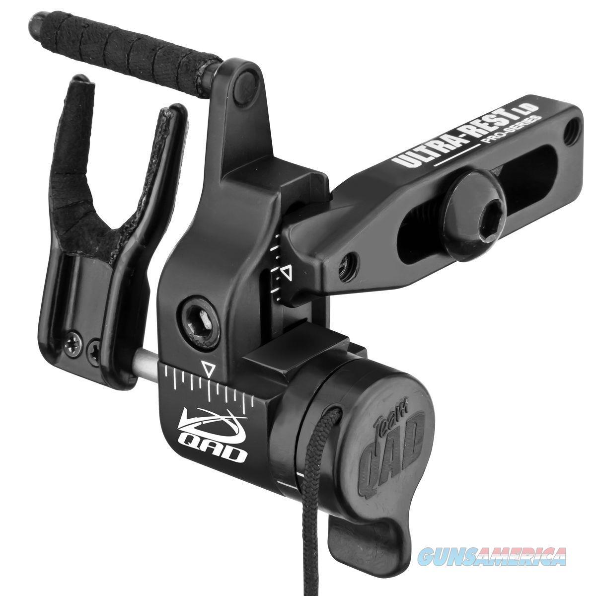 Qad Ultra Rest Pro Series Ld Black With Lock Down Technology QURL  Non-Guns > Gun Parts > Misc > Rifles
