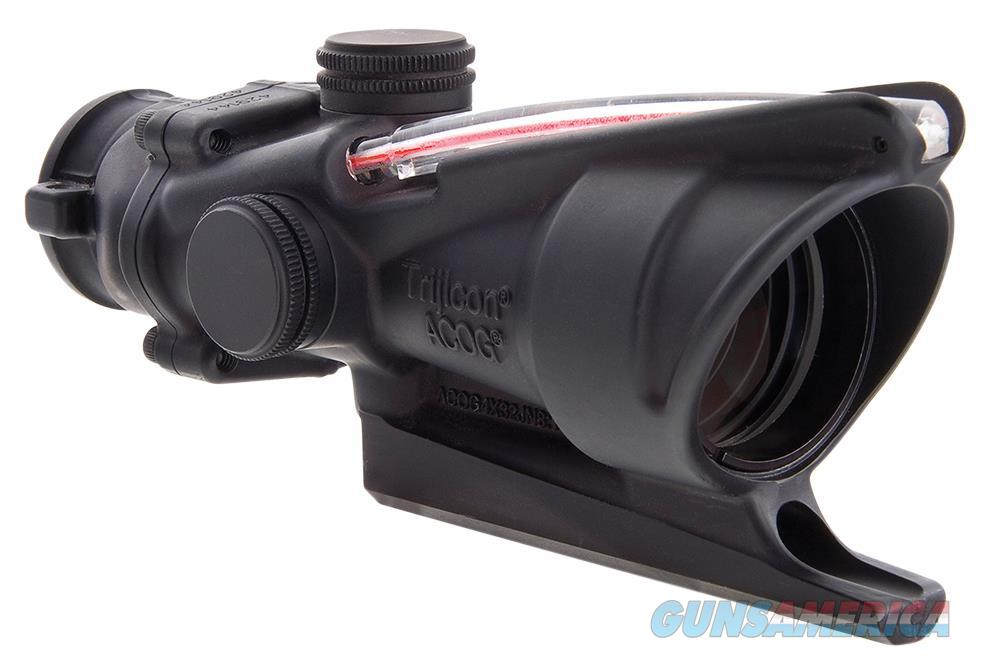 Trijicon 100213 Acog 4X 32Mm Obj 36.8 Ft @ 100 Yds Fov  Black Triangle 100213  Non-Guns > Scopes/Mounts/Rings & Optics > Rifle Scopes > Variable Focal Length
