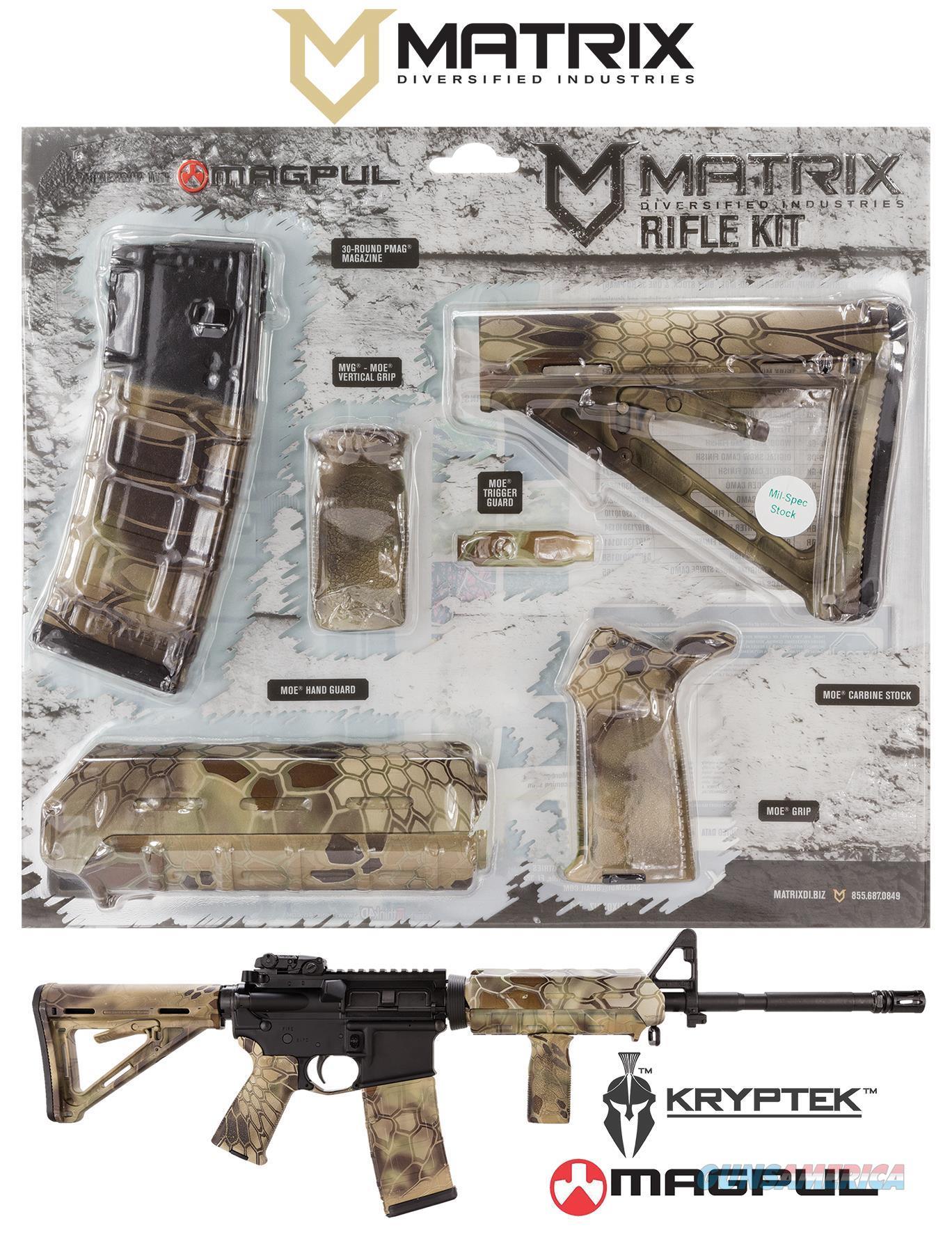Mdi Magmil41-Hl Kryptek Highlander Magpul Moe Kit Poly Ar-15 MAGMIL41HL  Non-Guns > Gunstocks, Grips & Wood