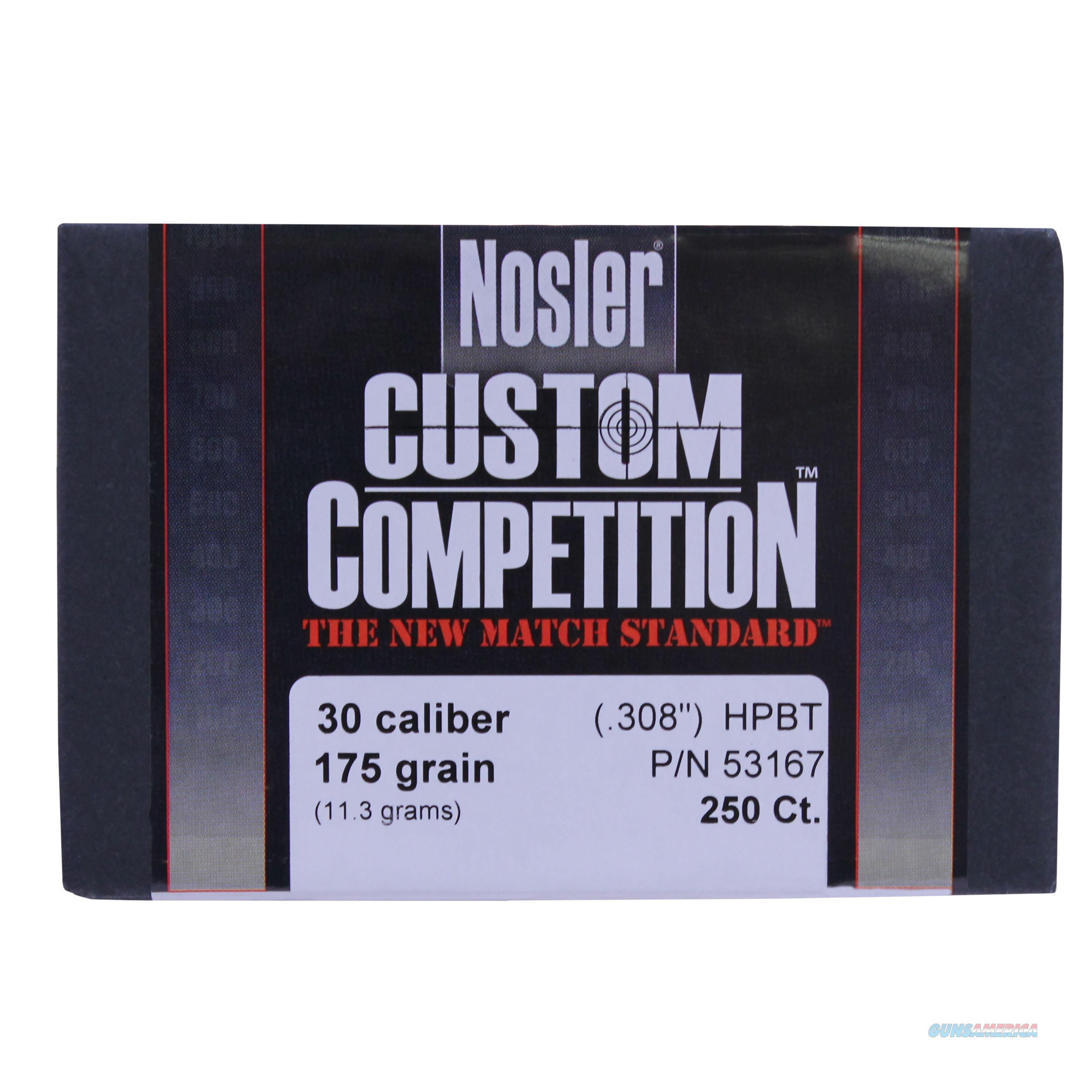 Nosler 30 Caliber Bullets 53167  Non-Guns > Reloading > Components > Brass