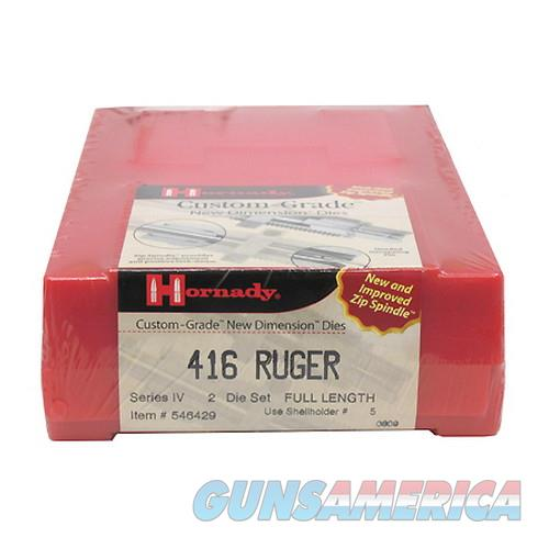 Hornady Custom Grade Series Iv New Dimension 2-Die Set 546429  Non-Guns > Reloading > Components > Brass