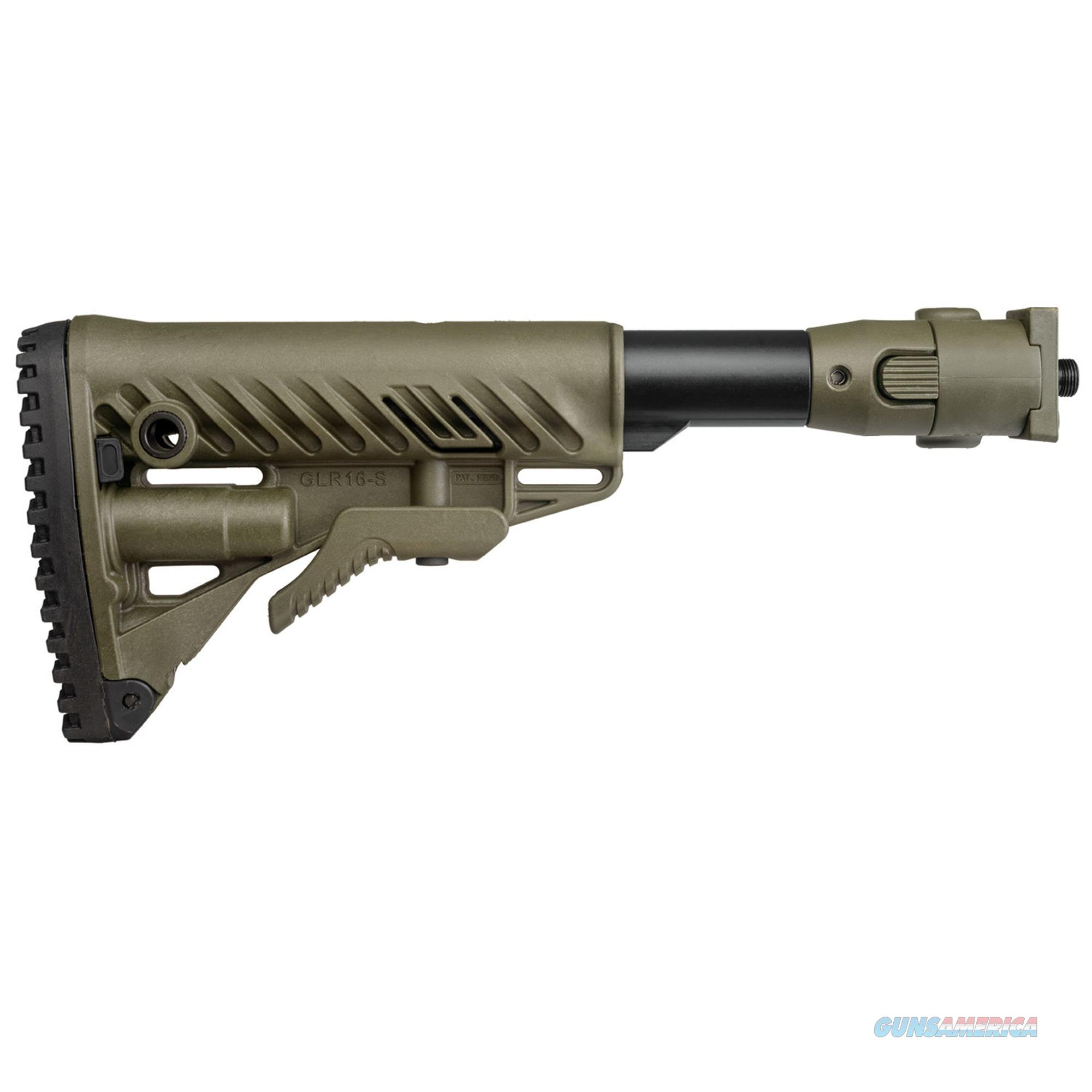 Mako Group Recoil Compensating Folding Collapsible Buttstock System M4VZP SB-OD  Non-Guns > Gunstocks, Grips & Wood