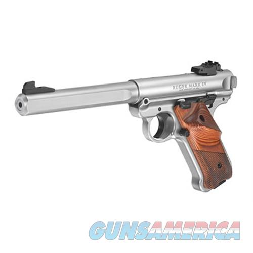Ruger Mkiv Competition 22Lr 6.88 Ss Lam As 10R 40112  Guns > Pistols > R Misc Pistols