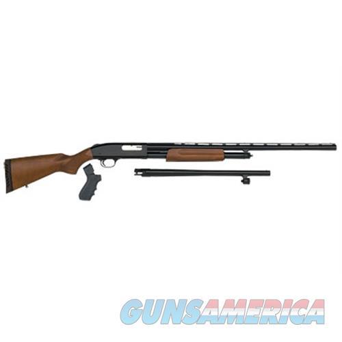 """Mossberg 54169 500 Field/Security Combo Pump 12 Gauge 28""""/18.5"""" 6+1 Wood Stock Blued 54169  Guns > Rifles > MN Misc Rifles"""