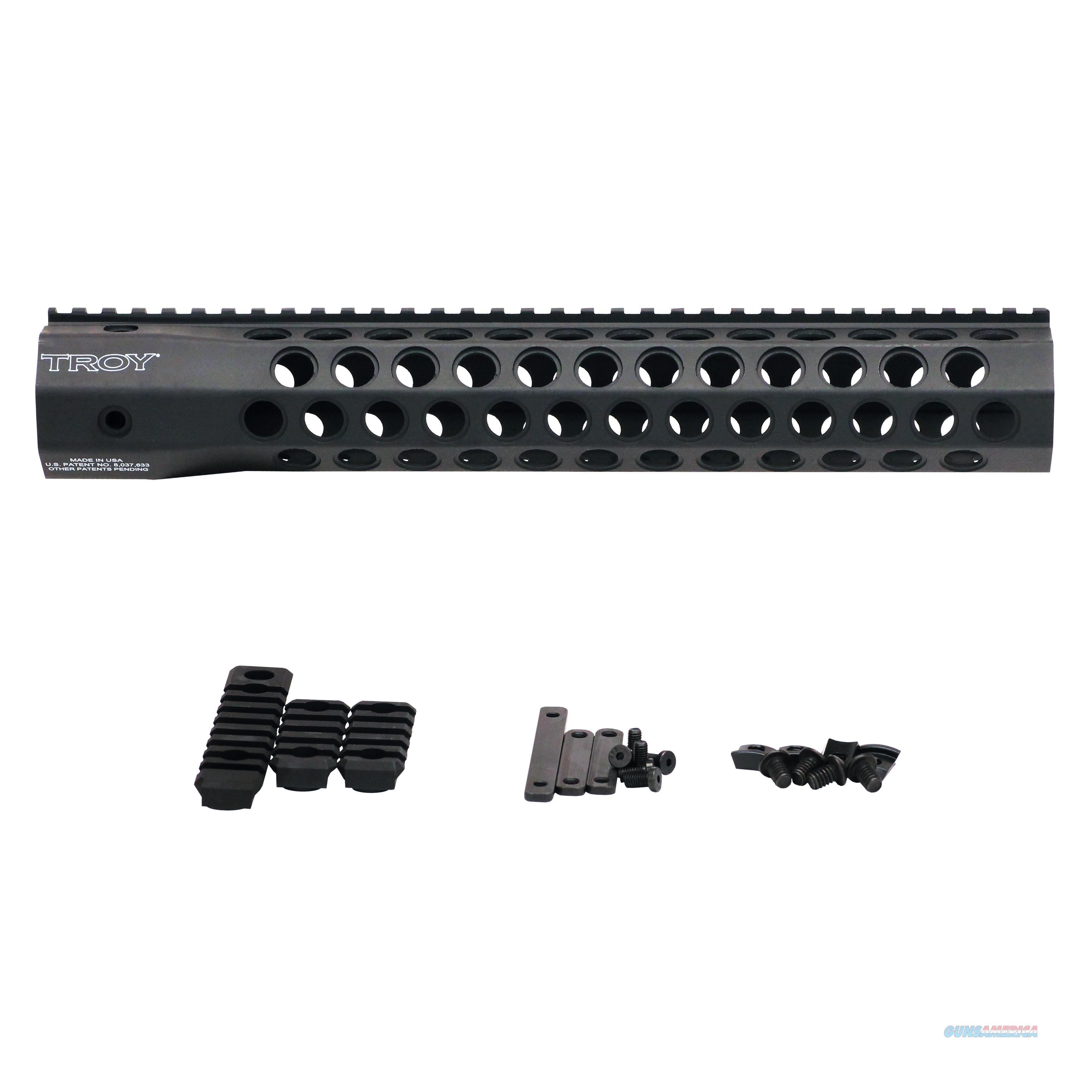 "Troy Industries Inc Alpha Revolution Battle Rail, 13"" STRX-AC1-13BT-00  Non-Guns > Gunstocks, Grips & Wood"