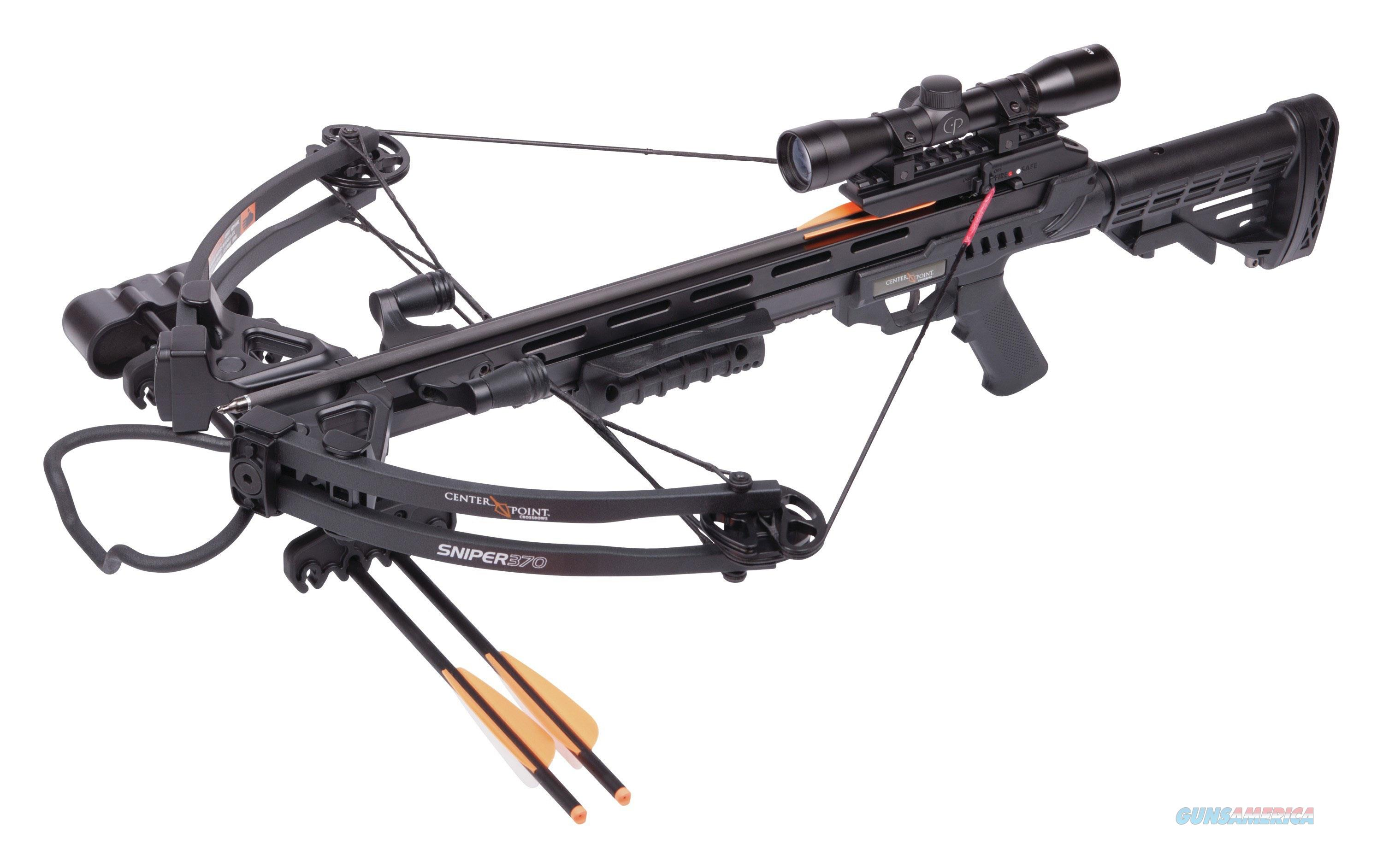 "Crosman Sniper Crossbow 3 20"" Carbo AXCS185BK  Non-Guns > Archery > Bows > Crossbows"