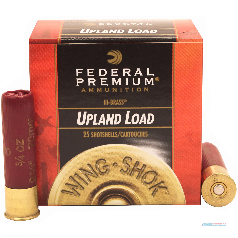 Federal Wing Shok Hv 28Ga 2.75'' 3/4Oz #8 25/Bx P283 8  Non-Guns > Ammunition