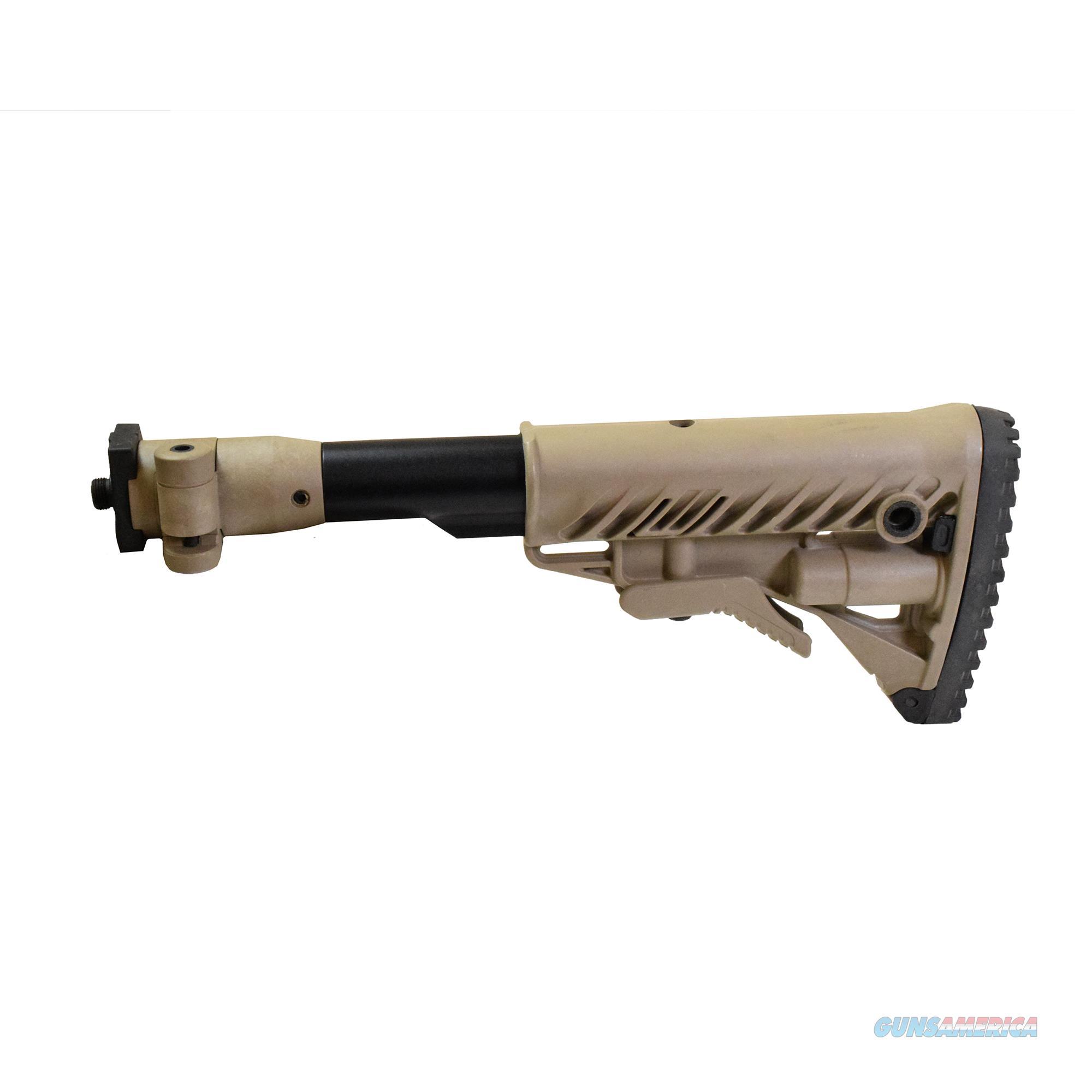 Mako Group Folding Collapsible Buttstock System M4VZP-FDE  Non-Guns > Gunstocks, Grips & Wood