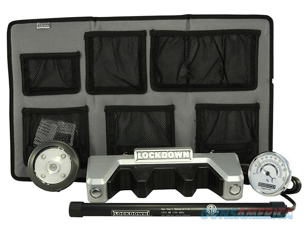 Lockdown 222498 Vault Dlx Accessories Kit Dehumidifier/Light/Hanger/Rest/Screws 222498  Non-Guns > Gun Safes