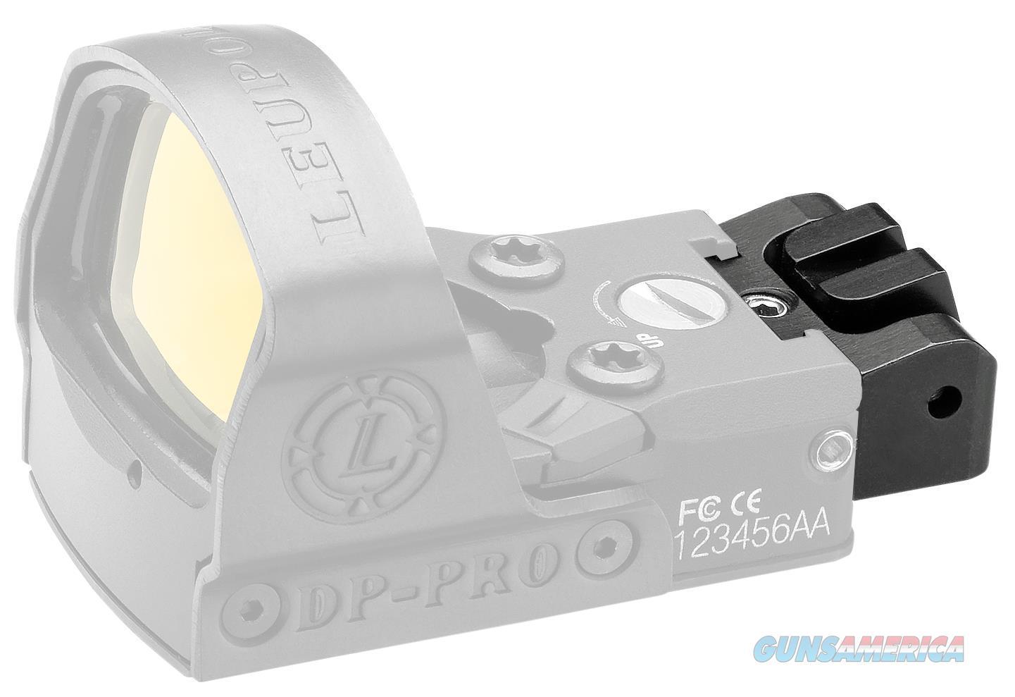 Leupold 120058 Deltapoint Pro Rear Iron Sight Pistol Aluminum Black 120058  Non-Guns > Scopes/Mounts/Rings & Optics > Mounts > Other