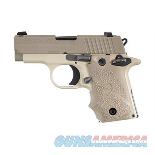 Sig Sauer Sig P238 380Acp 7Rd Dsrt Tan Fns Rbr 238-380-DES  Guns > Pistols > S Misc Pistols
