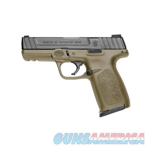 Smith & Wesson Sd9 9Mm 4 Fde Frame Blk Ss Slide 16Rd 11998  Guns > Pistols > S Misc Pistols