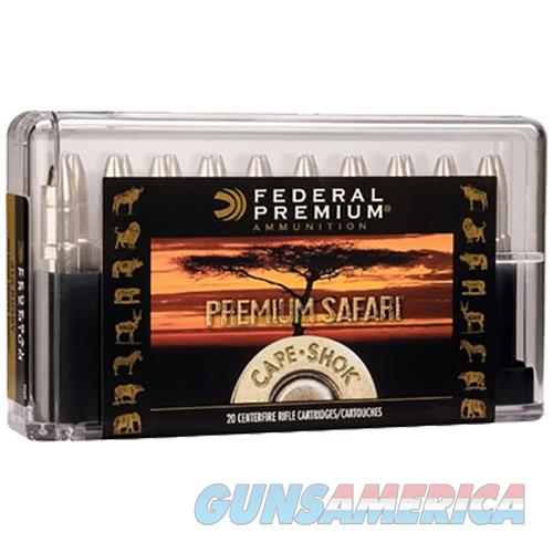 Federal P9362sa Cape-Shok 9.3Mmx62 Mauser Swift A-Frame 286 Gr 20Box/10Case P9362SA  Non-Guns > Ammunition