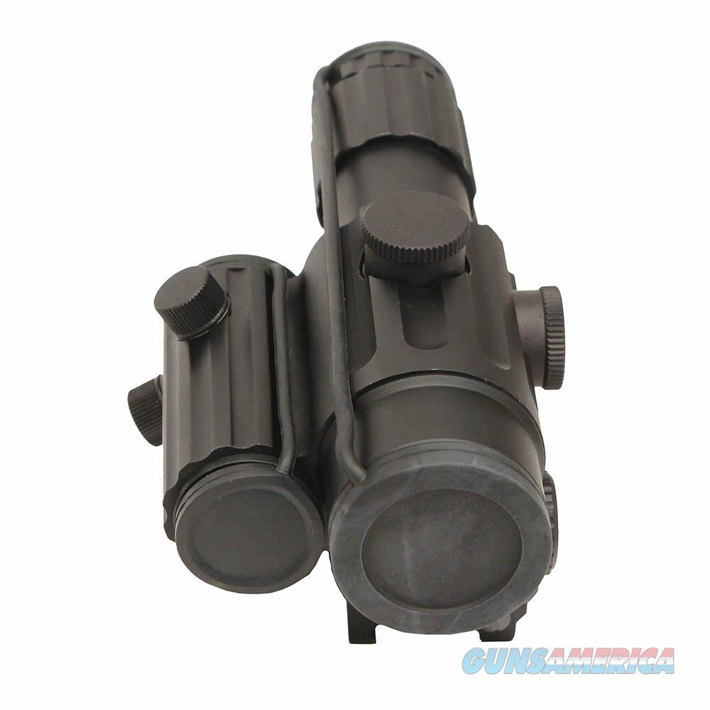 Nc Star Duo Series 4X34 Scope/Green Dot Reflx Sight VDUO434DGB  Non-Guns > Iron/Metal/Peep Sights