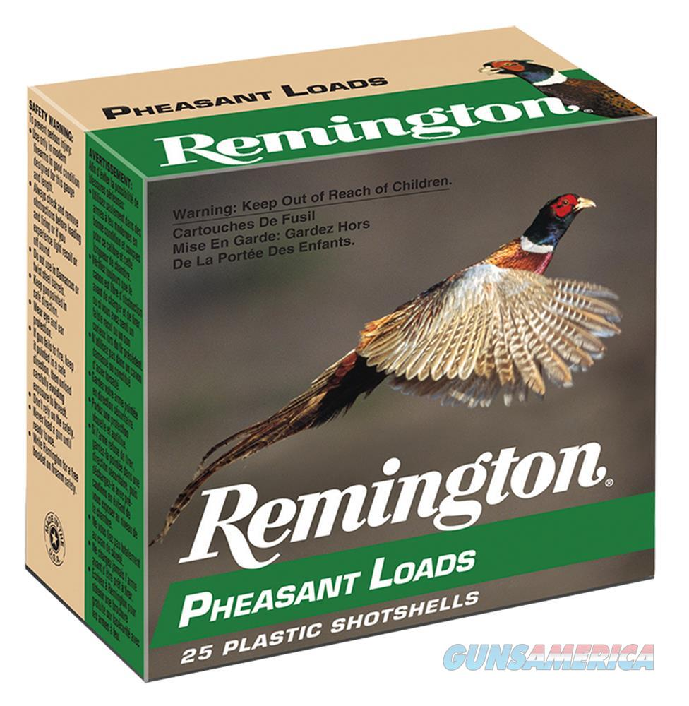 "Rem Pl124 Pheasant Loads 12 Ga 2.75"" 1-1/4 Oz 4 Shot 25Box/10Case PL124  Non-Guns > Ammunition"