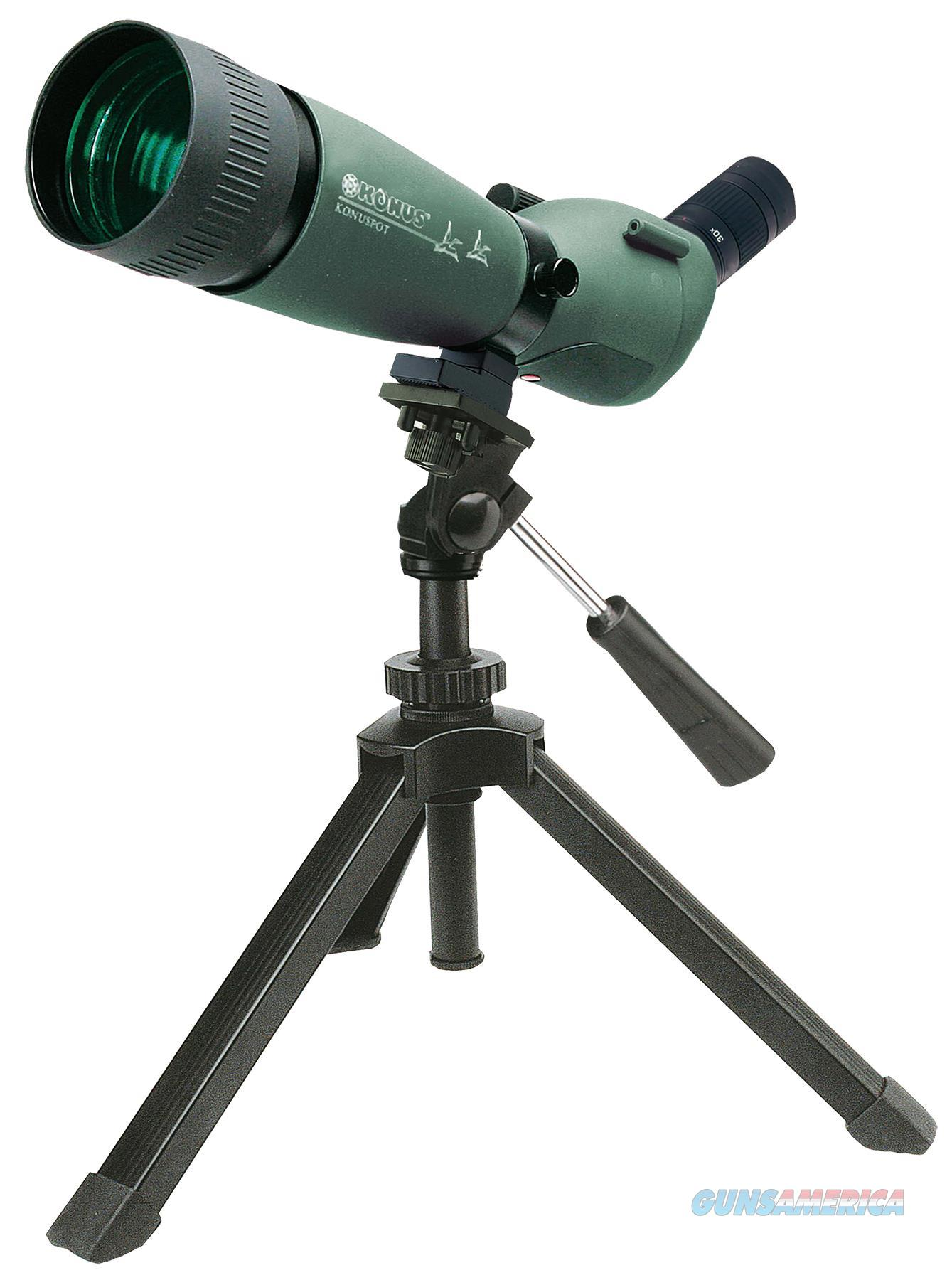 Konus 7120B Konuspot 20-60X 80Mm 79-41 Ft @ 1000 Yds Fov Angled Green W/Tripod, Photo Adapter, Case 7120  Non-Guns > Scopes/Mounts/Rings & Optics > Mounts > Other