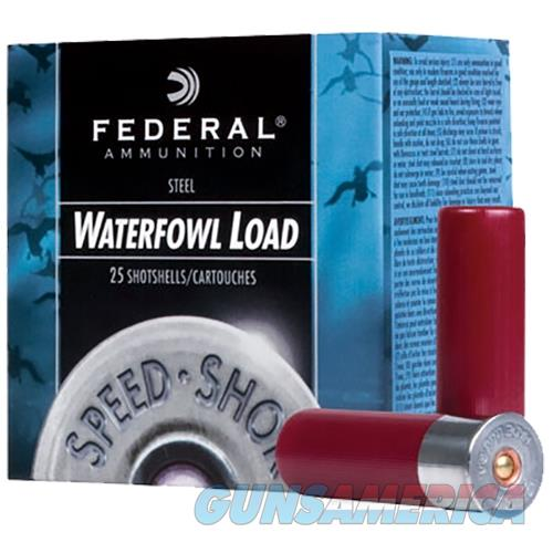 Federal Speed Shok Hv Steel 12Ga 3'' 1-1/8Oz #Bb 25/Bx WF143 BB  Non-Guns > Ammunition